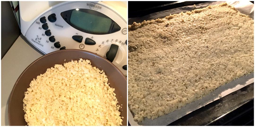 """Préparation de la """"pâte"""" à pizza"""