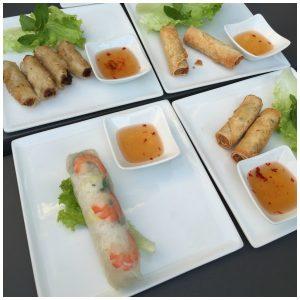 Bò Bún Sài Gòn, les entrées