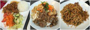 Bò Bún Sài Gòn, les plats