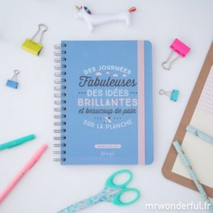 L'agenda Mr Wonderful