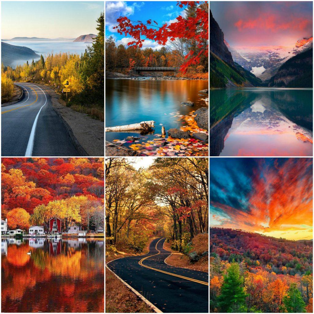 Les couleurs au Canada