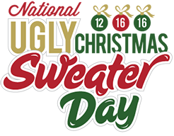 National Ugly Christmas Sweater Day, c'est aujourd'hui...