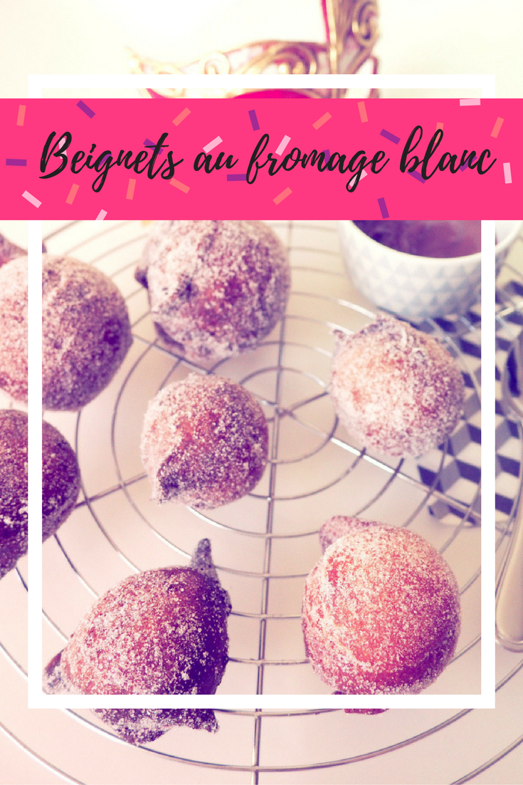 recette beignets fromage blanc recipe mardi gras carnaval