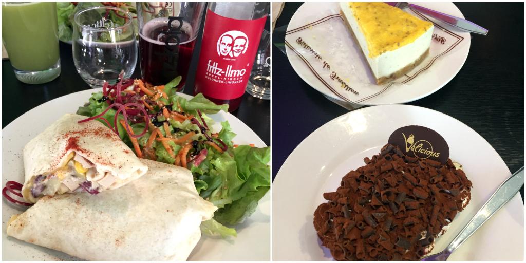 Restaurant Vélicious : ce que nous avons mangé !