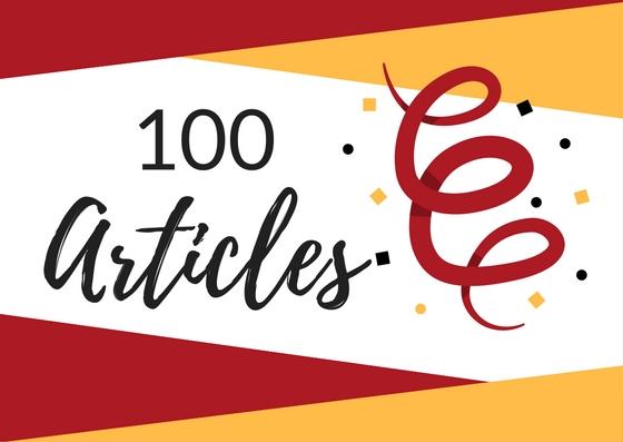100 articles sur JuLifeStyle JLS !