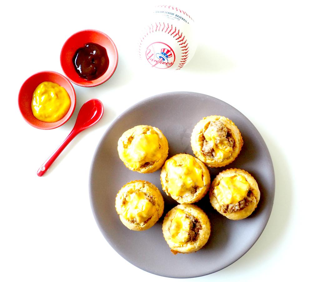 Muffins Cheeseburger, une recette originale pour l'apéro !