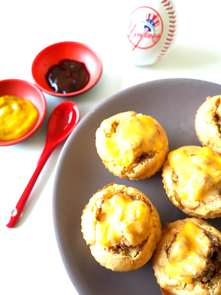 Muffins Cheeseburger