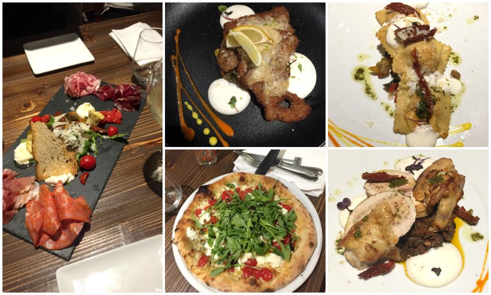 Nos plats au Capricciosa