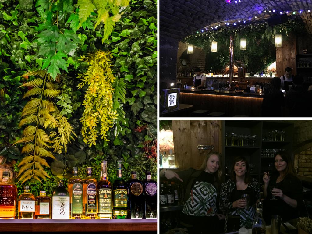 La déco de la Cabane : mur végétal, lampions, bois apparent ...
