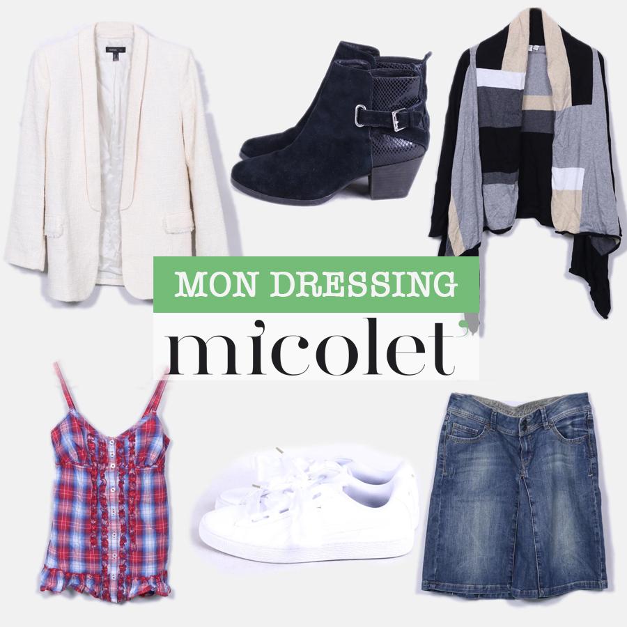 vente vêtement Micolet
