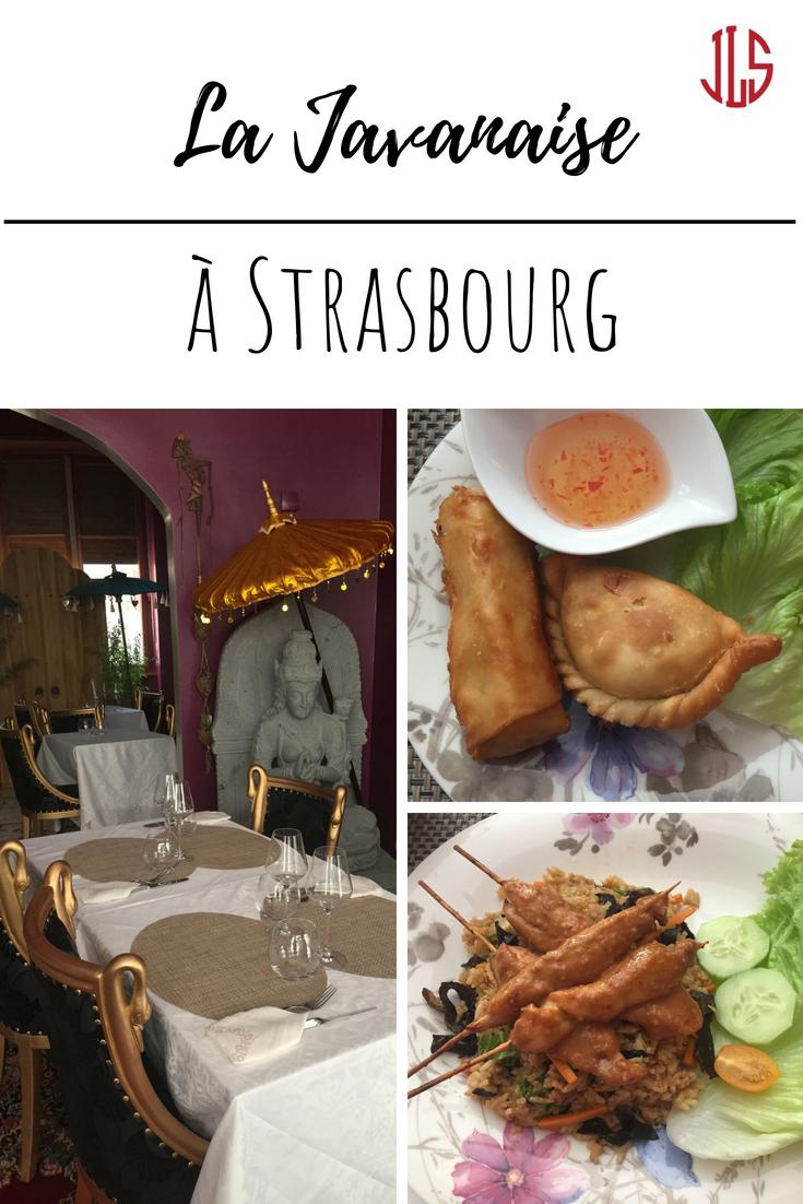 La Javanaise à Strasbourg