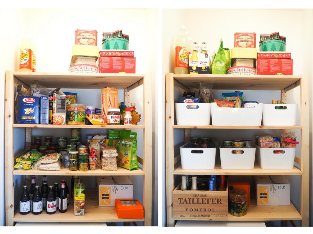 organiser ses provisions