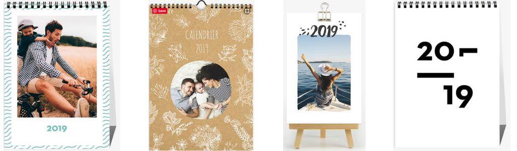 calendrier photo Popcarte