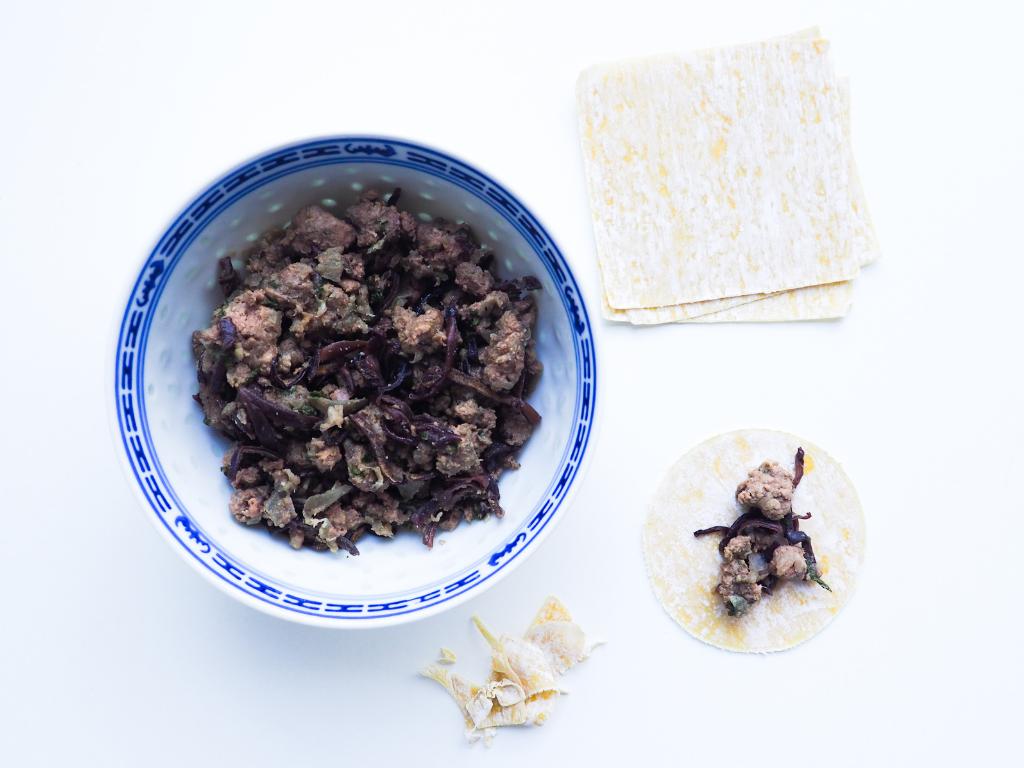 recette raviolis chinois
