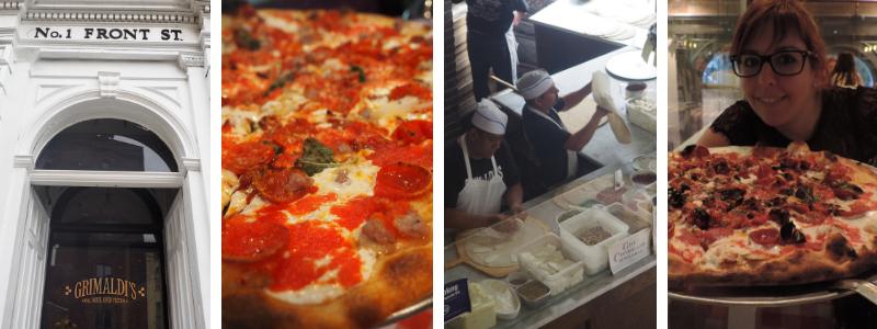 bonnes adresses New York Grimaldi Pizza