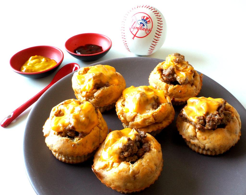 recette muffin cheeseburger