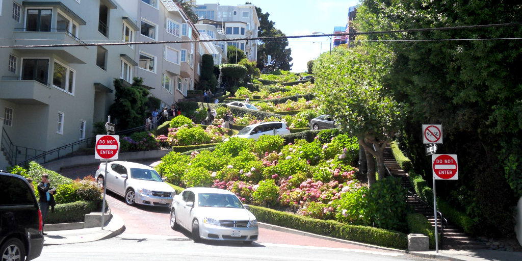 visiter san francisco lombard street