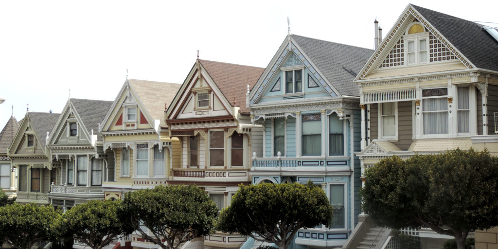 visiter san francisco painted ladies