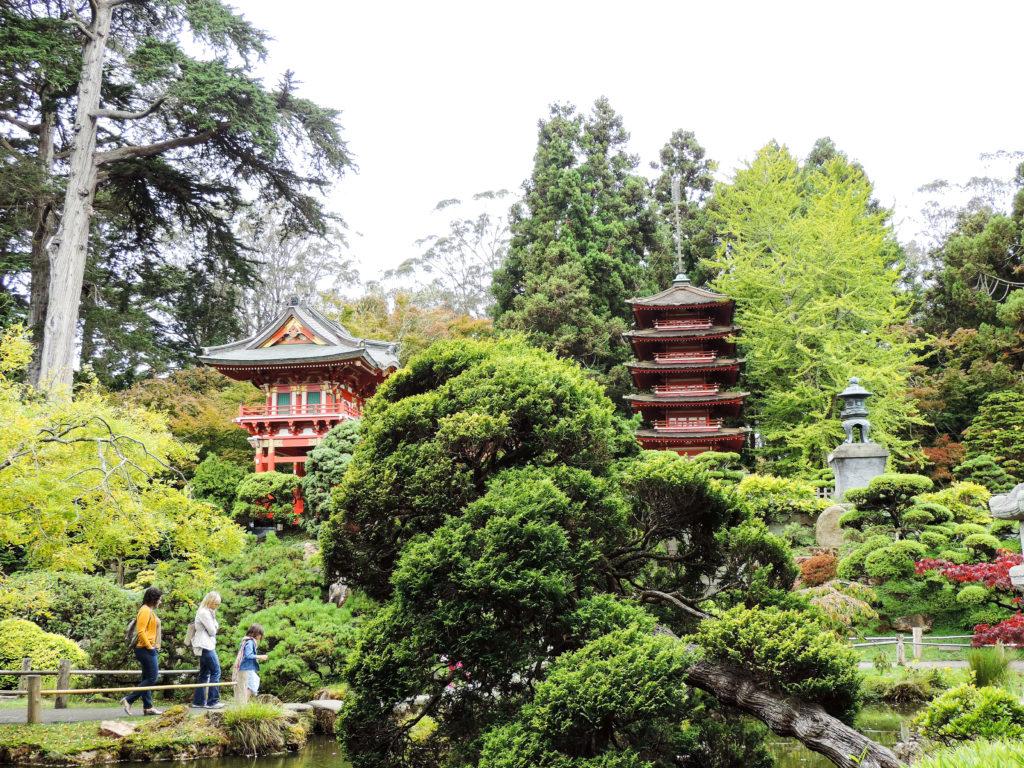 visiter san francisco japanese tea garden