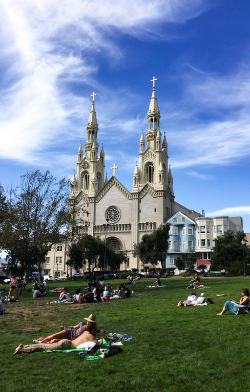 visiter san francisco washington square