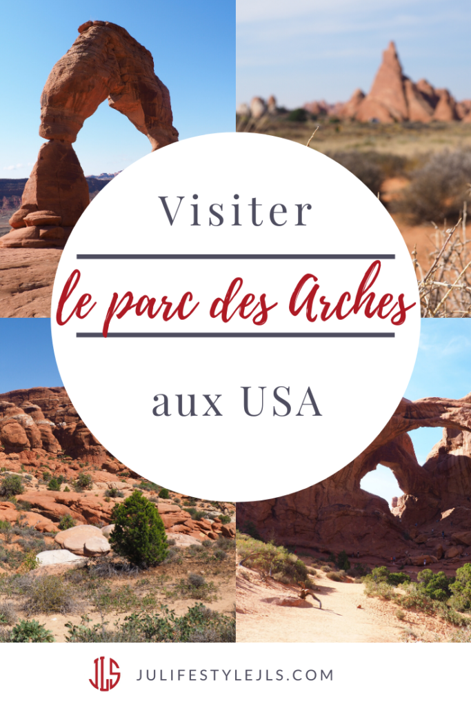 visiter arches usa