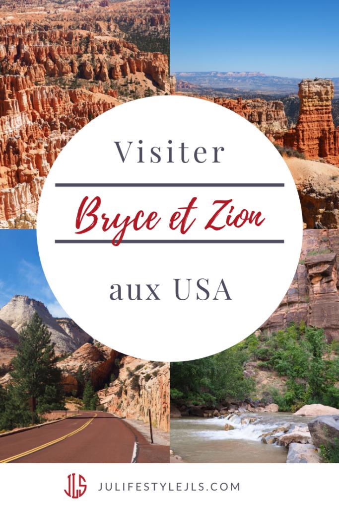 visiter bryce zion